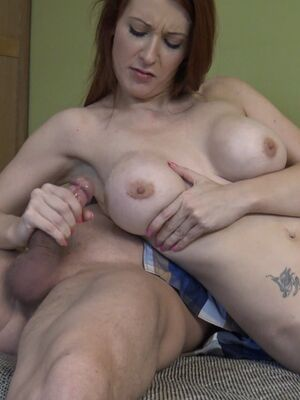 Loan4K - Hot redhead with big tits Stella gets her twat stuffed after an interview